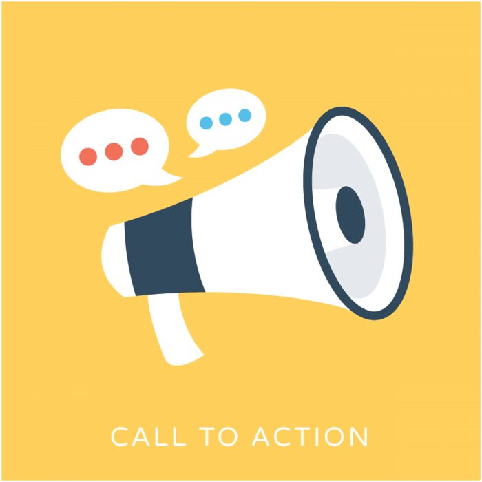 Business email call to action