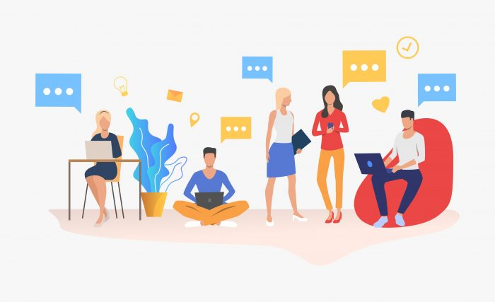 team chat and business communication tools