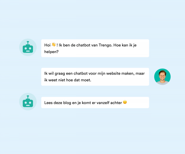 chatbot maken website