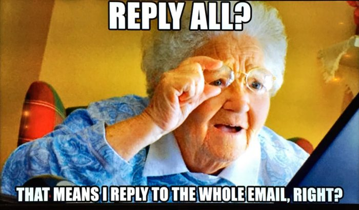 Reply all meme