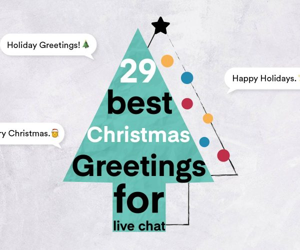 christmas greetings for live chat
