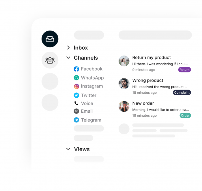Organize your email inbox using labels