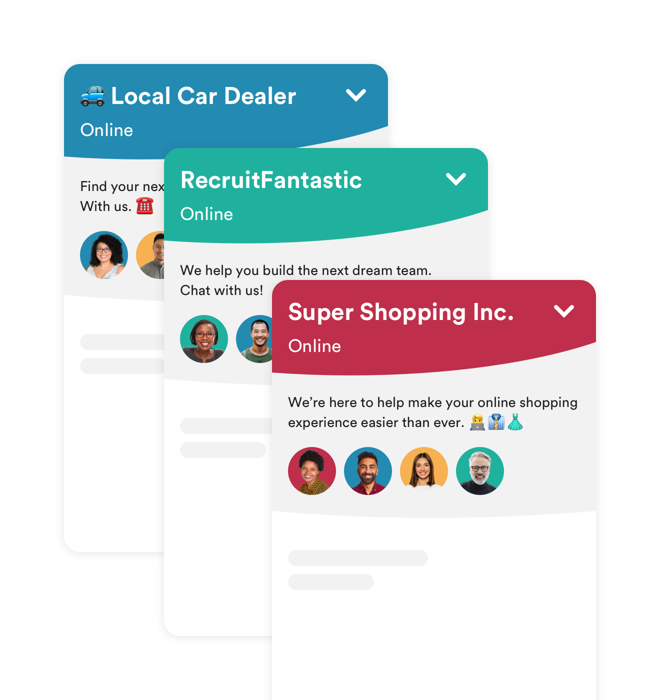 personalize live chat software